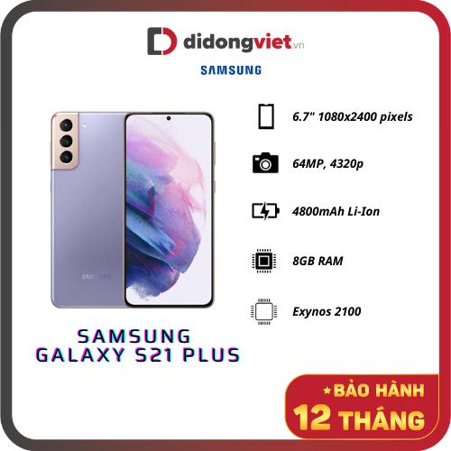 Samsung Galaxy S21 Plus 5G (SM-G996F) New (Chính Hãng)