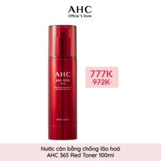 Nước Cân Bằng Chống Lão Hóa AHC 365 Red Toner 100ml