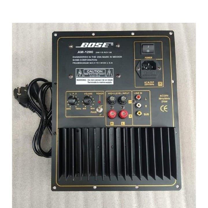 Mạch SUB điện BOSE cao cấp HP2020 kèm dây nguồn 220vac
