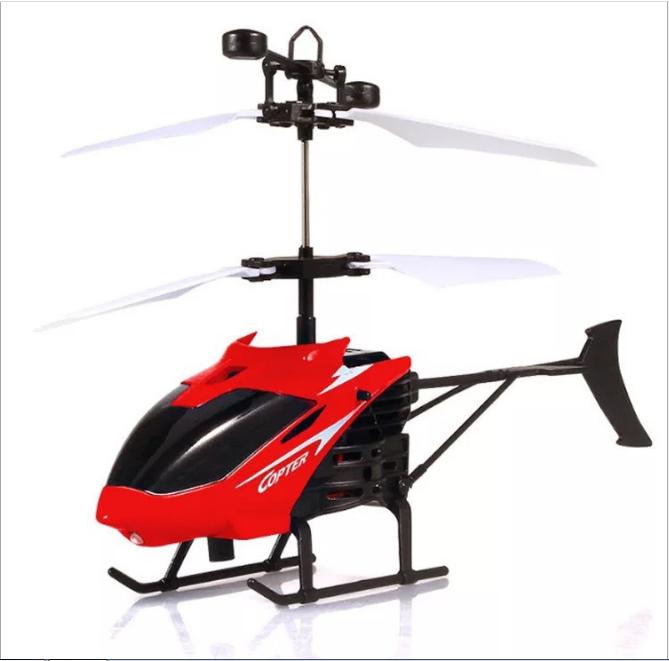 Máy bay điều khiển từ xa, máy bay trực thăng cảm ứng AH001, giúp bé vui chơi vận động phát triển thể chất