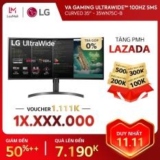 [TRẢ GÓP 0%] Màn hình máy tính LG Curved VA Gaming UltraWide™ (3440×1440) 100Hz 5ms 35 inches l 35WN75C-B l HÀNG CHÍNH HÃNG