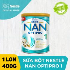 [FREESHIP 30K HCM&HN ĐƠN 399K] Sữa bột Nestle NAN OPTIPRO 1 400g cho trẻ từ 0-6 tháng tuổi dễ tiêu hóa dễ hấp thụ hỗ trợ sức đề kháng hỗ trợ phát triển trí não và thị lực – HMO