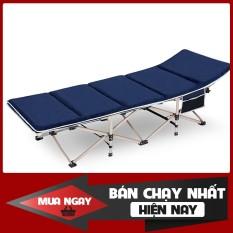 Giường xếp ngủ trưa 71×190 khung thép lớn , giường gấp văn phòng