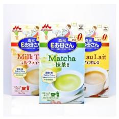 Sữa Bầu MORINAGA Nội Địa Nhật (4 Vị) – Hộp 12 Gói (DATE- 6-2021)(Matcha)
