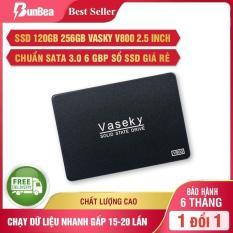 Ổ cứng SSD 120gb 256gb Vaseky V800 2.5 inch, chuẩn SATA 3.0 6 gbp sổ SSD giá rẻ, ổ cứng mini, ổ cứng máy tính, ổ cứng laptop (chạy dữ liệu siêu nhanh gấp 15-20 lần so với ổ cứng thường)-Bảo hành 36 tháng 1 đổi 1