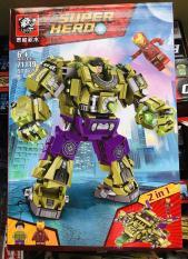 Bộ lego Hulk và Ironman 414 chi tiết