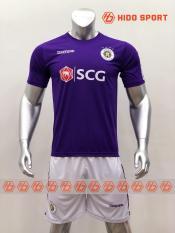 Bộ quần áo bóng đá CLB HÀ NỘI màu TÍM đồ đá banh mới 2019-20