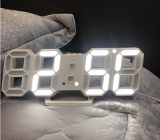 [ SALE SỐC ] ĐỒNG HỒ LED TREO TƯỜNG – ĐỒNG HỒ ĐỂ BÀN 3D PHONG CÁCH HÀN QUỐC. ĐỒNG HỔ LED GIÁ RẺ.