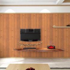 10m giấy dán tường gỗ nâu sọc đen khổ rộng 45cm có keo dán sẵn10m giây