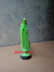 Tượng da quang Đức Mẹ Fatima cao 15 cm