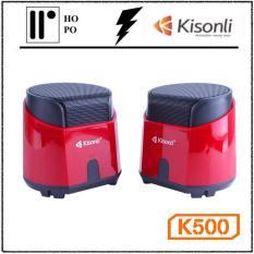 Loa Vi Tính Kisonli K500 – BH 1 Đổi 1 – 10 tháng + 2