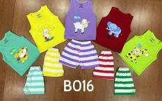 Set 5 bộ quần áo ba lỗ cho bé