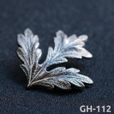 Ghim caì áo Vest Nam và Sơ Mi hình chiếc lá Kim loại GH-112 (Phụ Kiện Áo Vest Nam – AdamZone}