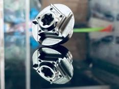 Ốc Nhớt Titanium Gr5 phôi mộc cho Honda và Yamaha