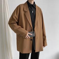 Áo Blazer Nam Form Rộng Phong Cách Hàn Quốc- BZ01