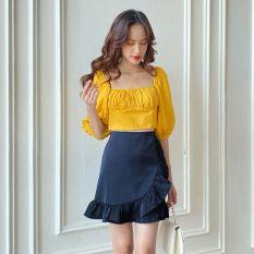 OLV – Chân váy Navy Wrap Skirt