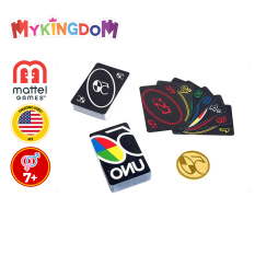 Đồ Chơi MATTEL GAMES Trò Chơi Trí Tuệ Uno Premium – Phiên Bản Đồng Tiền Vàng GXJ94