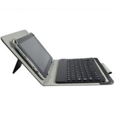 Bàn phím bluetooth kèm bao da dùng chung cho Tablets 7-8-9-10 inch