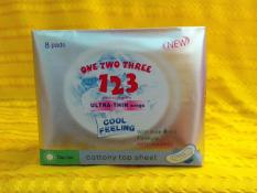 Băng vệ sinh ONE TWO THREE 123 ban ngày 8 miếng