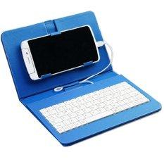 Bao da kiêm bàn phím 7 inch cho điện thoại Android – Bx Electronics (Xanh)