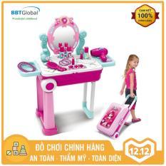 Đồ chơi trang điểm BBT Global vali kéo cho bé 008-923A