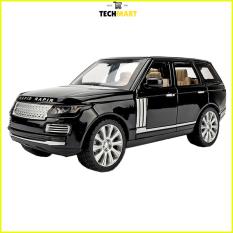 Xe mô hình tĩnh Land Rover tỉ lệ 1:24 khung thép chắc chắn màu Đen/ Đỏ