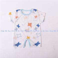 Set 02 body đùi cho bé sơ sinh hàng cotton giấy loại 1 với sợi vải cotton mềm mịn kiểu thiết kế đan xen thoáng khí giúp thấm nước hút mồ hôi tốt