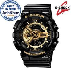 Đồng hồ nam dây nhựa Casio G-Shock Anh Khuê GA-110GB-1ADR