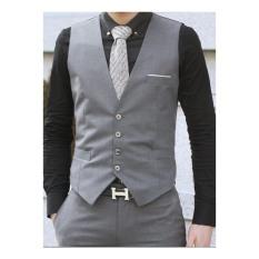 Áo gile nam tính phong cách hàn trẻ trung lịch lãm đẳng cấp quý ông, dáng ôm phong cách doanh nhân trang trọng dành cho nam giới