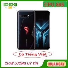 [Nhập ELMAR31 giảm 10% tối đa 200k đơn từ 99k]Điện thoại Gaming Phone Asus ROG Phone 3 Tencent 12/128Gb – Hàng nhập khẩu