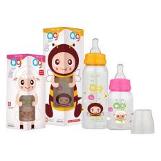Bình sữa Agi Premium 60ml – 120ml – 240ml tặng kèm một núm vú cùng loại