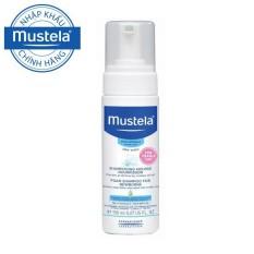Dầu Gội ngừa Cứt Trâu (Viêm Da Tiết Bã) Mustela Foam Shampoo For Newborns 150ml