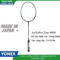 Vợt cầu lông Yonex ArcSaber Tour 6600 – Công thủ toàn diện dành cho người chơi khá