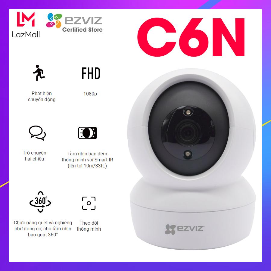 Camera EZVIZ C6N 1080P wifi Smart IR, theo dõi chuyển động – Hàng chính hãng Bảo hành 2 năm