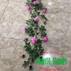 Dây hoa Hồng gai leo 1,7m cao cấp – Dây hoa giả cao cấp