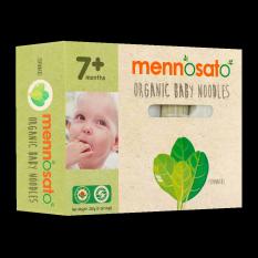 Mì ăn dặm hữu cơ cho bé vị cải bó xôi 200g – Men No Sato