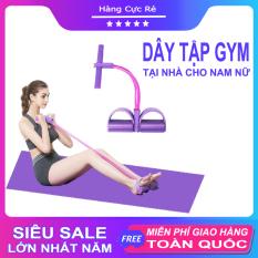 Dây tập GYM tập bụng tại nhà – Chất liệu cao su cao cấp, co giãn, kháng lực tốt, giúp tăng cơ, giảm mỡ chỉ trong 30 ngày – Shop Hàng Cực Rẻ
