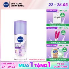 Lăn ngăn mùi Nivea serum trắng mịn hương hoa Lily 40ml 85310