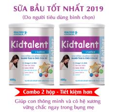 Sữa bầu giúp xóa lùn cho con từ trong bụng mẹ Kid Talent Mother – Combo 2 hộp 400gr – Tiết kiệm hơn