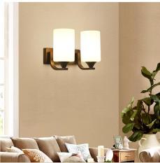 Đèn gắn tường đôi trang trí phòng ngủ, phòng khách độc đáo – Kèm bóng led