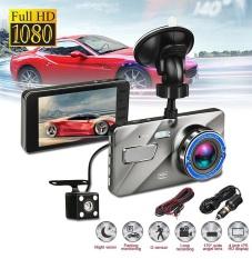 Camera hành trình ô tô trước sau A10 Màn hình 4 Inch IPS, Full HD 1080P, ống kính kép siêu bền – BH 12 Tháng ( 1 đổi 1 )