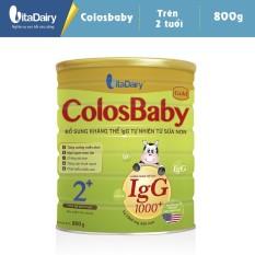 Sữa Colosbaby 2+ 1000 Igg 800G