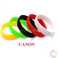 Vòng cao su đeo len CANON dập nổi