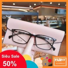 Gọng kính cận vuông nhựa dẻo cho cả nam và nữ 8087 – Tiệm kính Candy