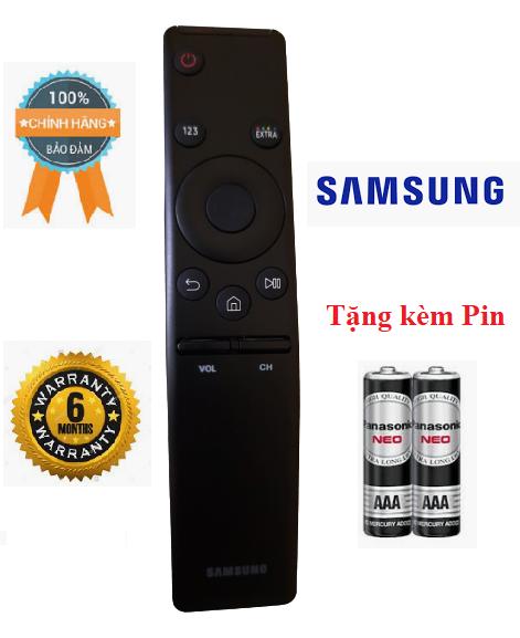 Điều khiển tivi Samsung Smart- Hàng chính hãng các dòng Samsung UA 32 40 43 49 50 55 QA65 4K KU NU RU Smart QLED