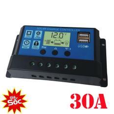 Điều khiển sạc pin năng lượng mặt trời 30A sạc bình acquy 12V và 24V,Bộ sạc pin điều khiển năng lượng mặt trời công suất lớn 30A