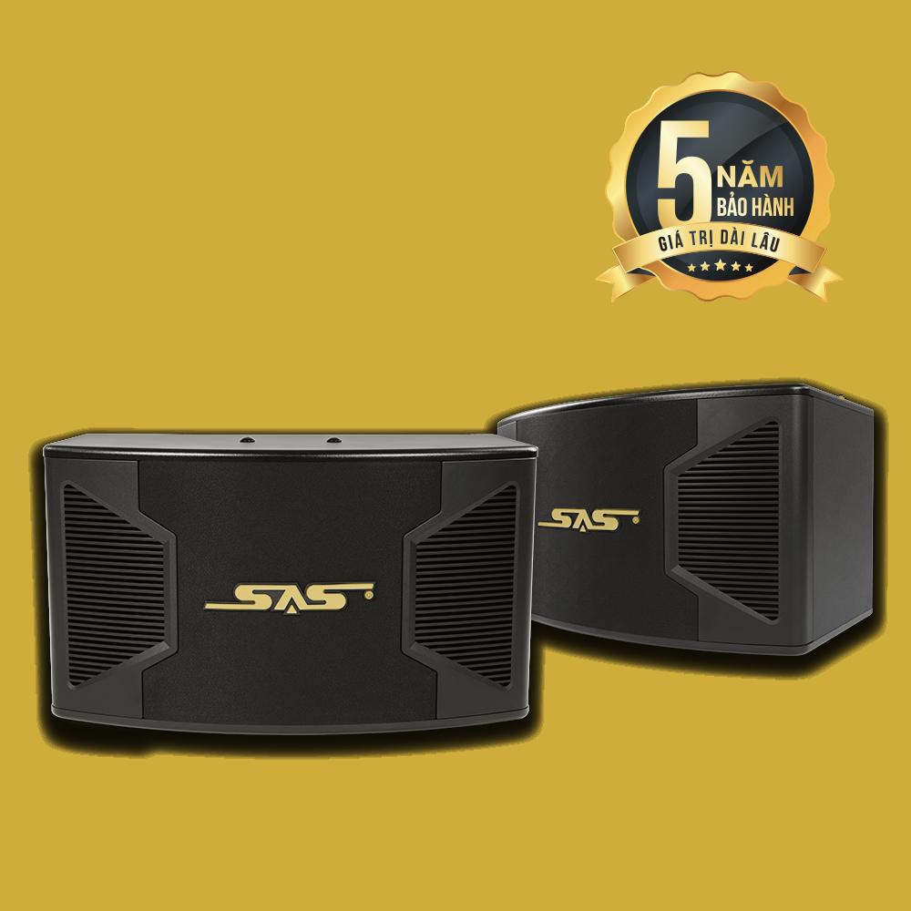 Loa karaoke SAS S-300 – Công suất 500W bảo hành 5 năm, là giải pháp dành cho không gian gia đình dưới 25m² hiện nay