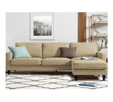 Sofa góc trung bình Juno Sofa 210x150x75 cm (nâu cát)