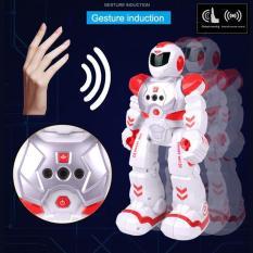 Đồ Chơi Robot Điều Khiển Từ Xa , Điểu Khiển Cảm Ứng Tay (Phiên Bản Tiếng Anh)Đỏ