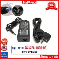 Cục sạc laptop ASUS 19V 3.42A PA-1600-02 H2Pro, Dây nguồn máy tính hàng chính hãng
